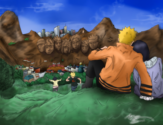 Uzumaki Family's Field Day by xxxMR-LEGOxxx