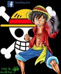 Monkey D Luffy by MaryDKidd