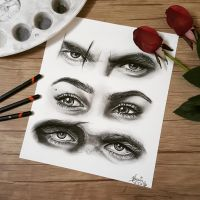 The Lannisters' eyes by 91samjo
