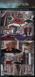 DAI Sceneries - Inquisitor's Quarters XPS DOWLOAD by raccooncitizen