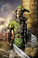 Link from The Legend of Zelda by blackmachine23