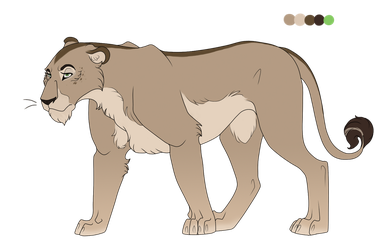 Princess of Wethu: Lioness Adoptable by tisea