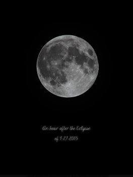 Super Moon of 9-27-2015 by SheilaMBrinson