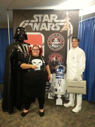 Darth Vader, Abby Sciuto, R2D2, Doctor Horrible by xayoz77