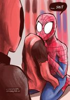 what are you doing spidey by viizvictory