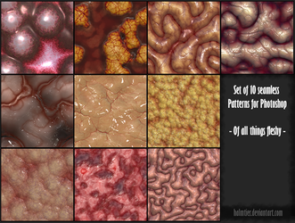 PS Patterns - Of all things fleshy by halmtier