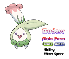 Budew - Alola Form by locomotive111