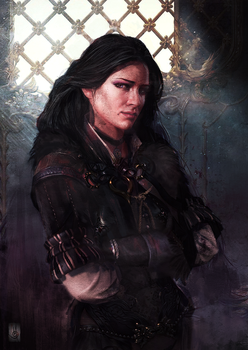 Yennefer by muratgul