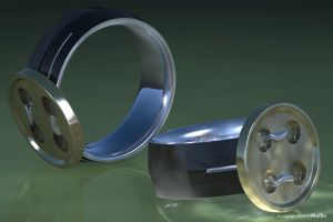 Button Ring by JeremyMallin