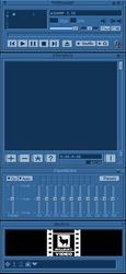 Doppler Productions WinAmp Skin by Hattmannen