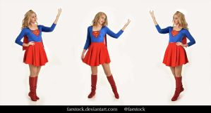 Supergirl  - Stock model reference pack 3 by faestock