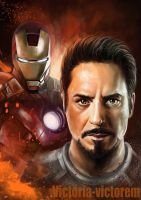 Iron man. Tony Stark by Victoria-victorem