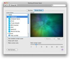 Mac OS X Screen Saver for XP by Ausrif