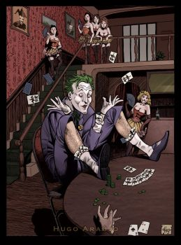 Joker Playing Cards by anatomista