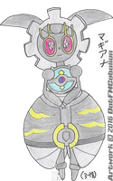 722? - Magearna by DatFMCobalion