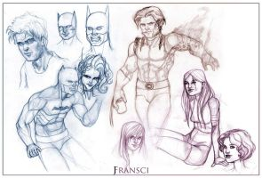 Various Heroes by JF3