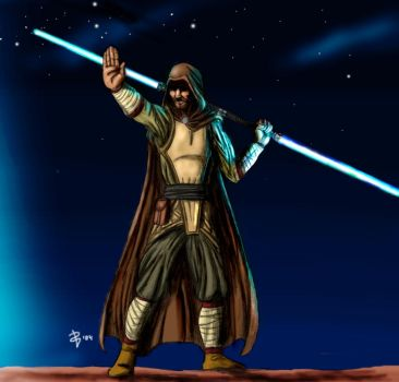 Jedi by Muoteck