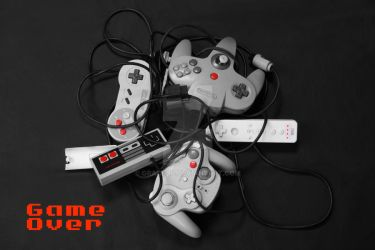 Game Over Nintendo by Graci-dp
