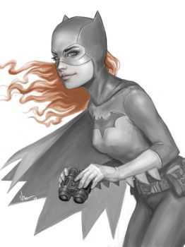 The Batgirl by VietNguyen
