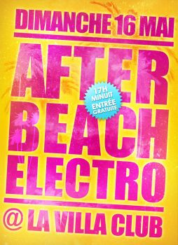Flyer - After Beach by TikO974