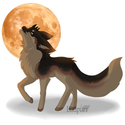 Howl to the Moon by blu-jayz