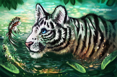 Rine The Tiger by FlashW