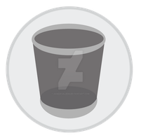 Trash (Empty) Icon Update by hamzasaleem