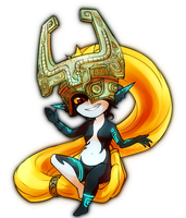 Fanart: Midna (Hyrule Warriors) by Komao