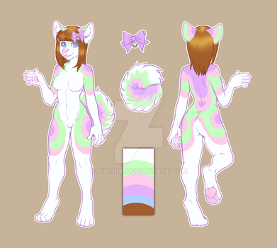 Mia the Pastel Husky by Aiilura
