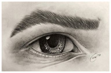 Eye study by InkWitchArts