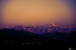 Majestic Mountains by LeWelsch