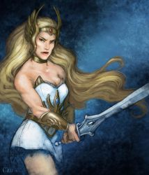 She-Ra by MeliHitchcock