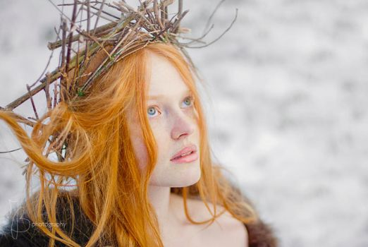 Winter, Child of the Forest by Maquenda