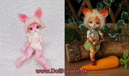 Cute and Furry BJDs by Ravica