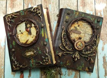 The Looking Glass - Journal Making Workshop 2016 by LuthienThye