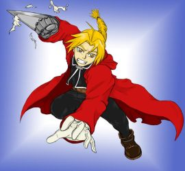 Ed Elric the FMA by Aureawolf