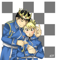 King and Queen by kasuria