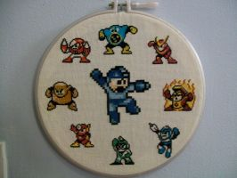MegaMan Boss Collection by yumeleona23