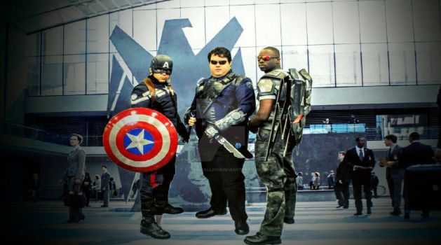 Marvels Agent of S.H.I.E.L.D and Avengers by AzraelFallen18