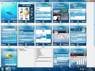 Windows 7 Theme W800i v.0.3 by Misaki2009