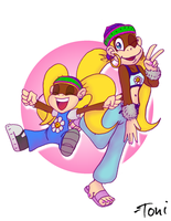 Tiny Times Two by bot-chan
