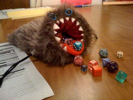 Dice Bag of Devouring by gugibufugi
