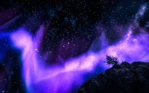 Skyrim - Northern Lights - Almost Daily 4 by WatchTheSkies45