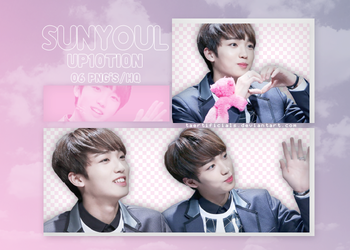 Sunyoul (UP10TION) | PNG PACK #26 by taertificials
