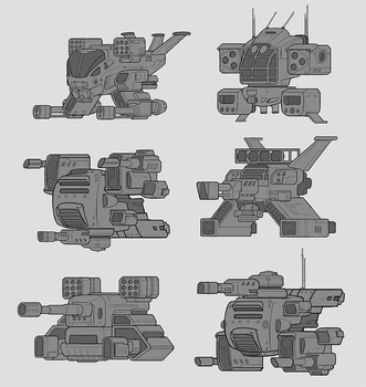 Spaceship thumbnails by Sam-Peterson