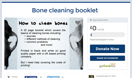 Bone cleaning booklet by DelinquentDog
