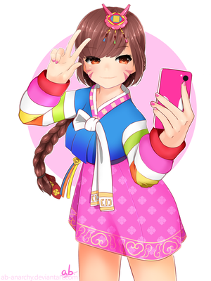 Palanquin D.Va by AB-Anarchy