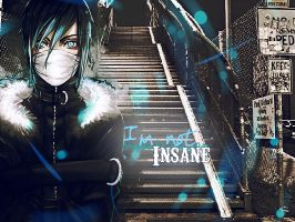 Wall_I'm not insane by tophbbeiffong