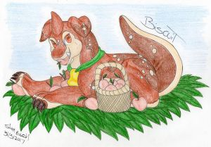 Art Trade: Biscuit by Silvah-Rush