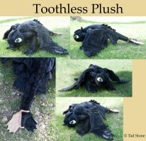 Toothless Plush by TadStone